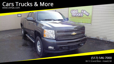 2010 Chevrolet Silverado 1500 for sale at Cars Trucks & More in Howell MI