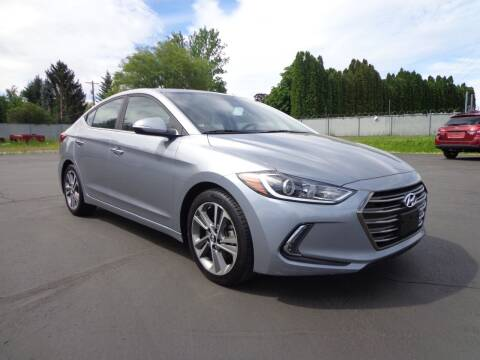 2017 Hyundai Elantra for sale at New Deal Used Cars in Spokane Valley WA