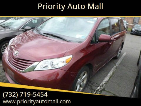 2017 Toyota Sienna for sale at Priority Auto Mall in Lakewood NJ