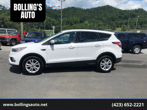 2017 Ford Escape for sale at BOLLING'S AUTO in Bristol TN