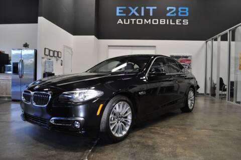 2014 BMW 5 Series for sale at Exit 28 Auto Center LLC in Cornelius NC