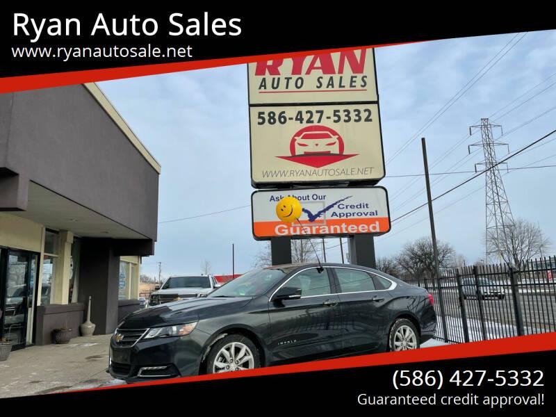 2019 Chevrolet Impala for sale at Ryan Auto Sales in Warren MI