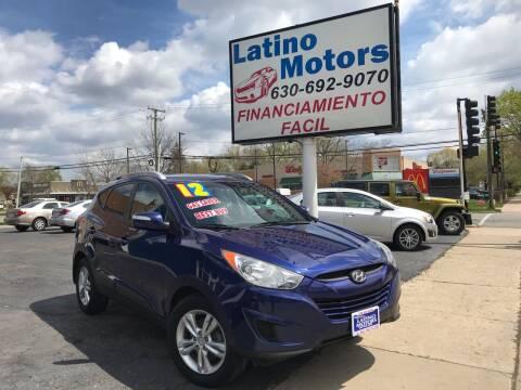 2012 Hyundai Tucson for sale at Latino Motors in Aurora IL