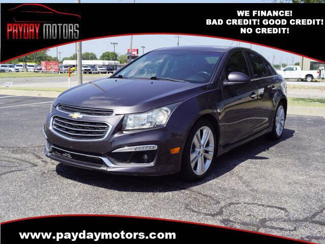2015 Chevrolet Cruze for sale at Payday Motors in Wichita KS
