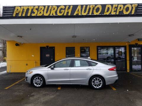 2019 Ford Fusion for sale at Pittsburgh Auto Depot in Pittsburgh PA