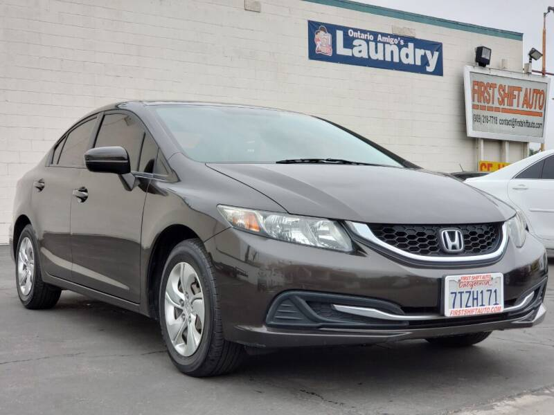 2014 Honda Civic for sale at First Shift Auto in Ontario CA