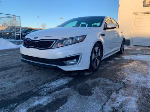 2012 Kia Optima Hybrid for sale at HIGHLINE AUTO LLC in Kenosha WI