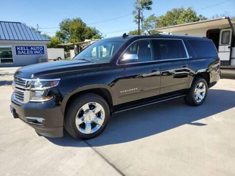 2016 Chevrolet Suburban for sale at Kell Auto Sales, Inc - Grace Street in Wichita Falls TX