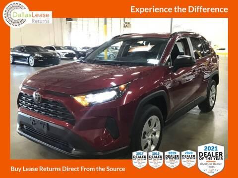 2019 Toyota RAV4 for sale at Dallas Auto Finance in Dallas TX