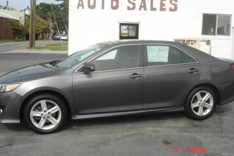 2014 Toyota Camry for sale at Weston's Auto Sales, Inc in Crewe VA