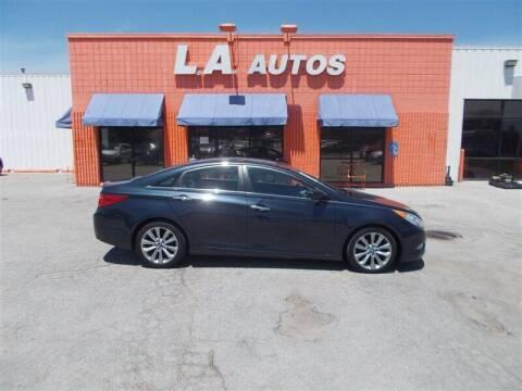 2012 Hyundai Sonata for sale at L A AUTOS in Omaha NE
