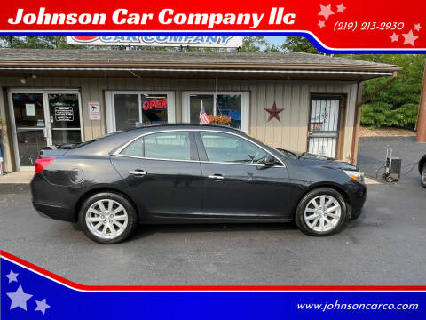 2014 Chevrolet Malibu for sale at Johnson Car Company llc in Crown Point IN