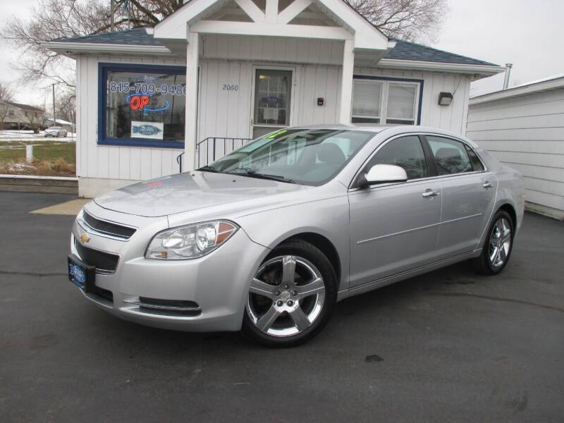 2012 Chevrolet Malibu for sale at Blue Arrow Motors in Coal City IL