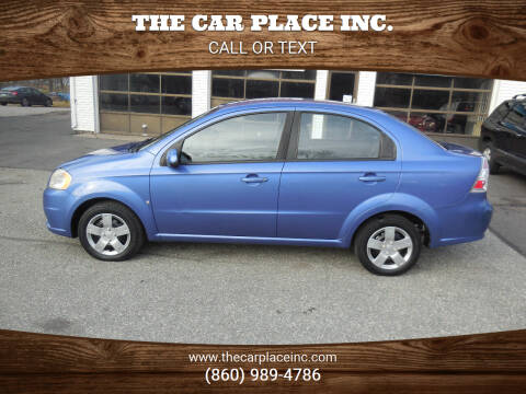 2009 Chevrolet Aveo for sale at THE CAR PLACE INC. in Somersville CT