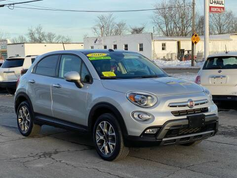 2016 FIAT 500X for sale at MetroWest Auto Sales in Worcester MA