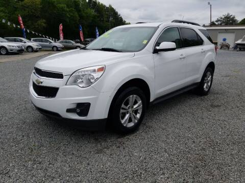 2012 Chevrolet Equinox for sale at TR MOTORS in Gastonia NC