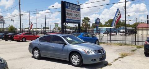 2012 Nissan Altima for sale at S.A. BROADWAY MOTORS INC in San Antonio TX