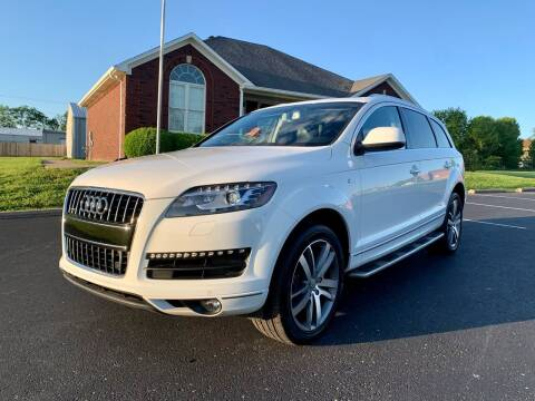 2015 Audi Q7 for sale at HillView Motors in Shepherdsville KY