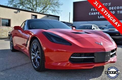 2016 Chevrolet Corvette for sale at LAKESIDE MOTORS, INC. in Sachse TX