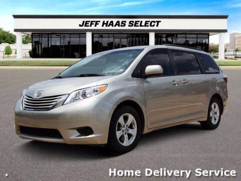 2017 Toyota Sienna for sale at JEFF HAAS MAZDA in Houston TX