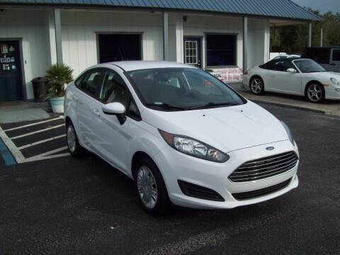 2017 Ford Fiesta for sale at LONGSTREET AUTO in St Augustine FL