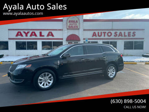 2016 Lincoln MKT Town Car for sale at Ayala Auto Sales in Aurora IL