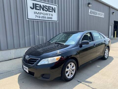 2011 Toyota Camry for sale at Jensen's Dealerships in Sioux City IA