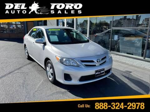 2011 Toyota Corolla for sale at DEL TORO AUTO SALES in Auburn WA