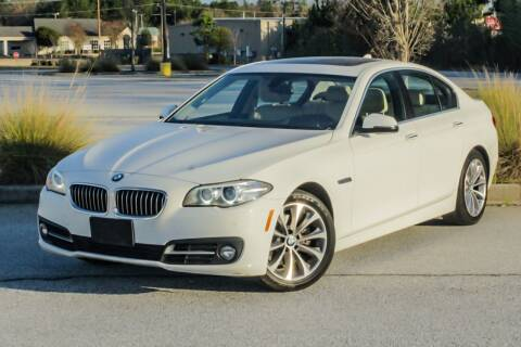 2016 BMW 5 Series for sale at Cannon and Graves Auto Sales in Newberry SC