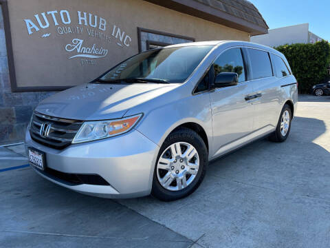 2013 Honda Odyssey for sale at Auto Hub, Inc. in Anaheim CA