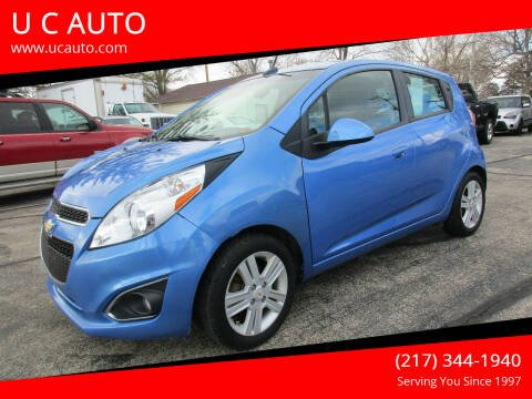2014 Chevrolet Spark for sale at U C AUTO in Urbana IL