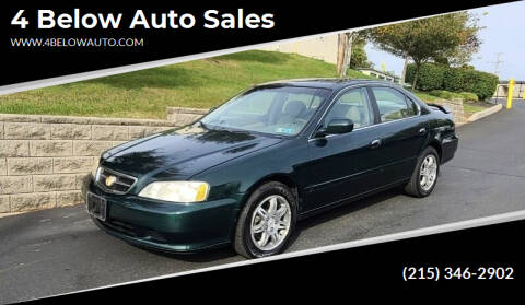 2000 Acura TL for sale at 4 Below Auto Sales in Willow Grove PA