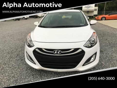 2015 Hyundai Elantra GT for sale at Alpha Automotive in Odenville AL