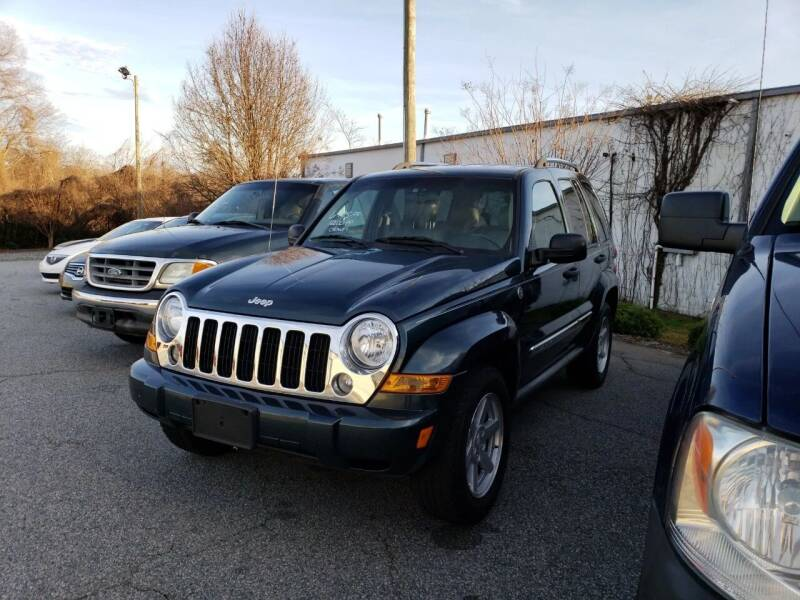 2005 Jeep Liberty for sale at YOUR WAY AUTO SALES INC in Greensboro NC