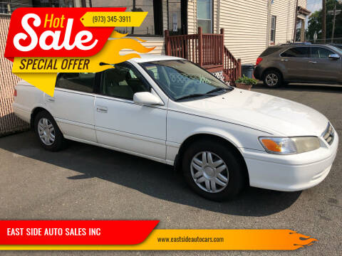 2000 Toyota Camry for sale at EAST SIDE AUTO SALES INC in Paterson NJ