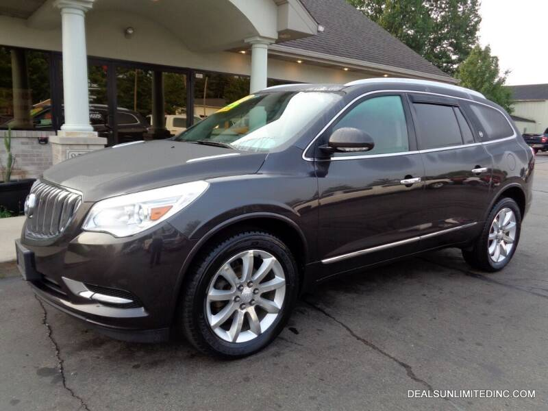 2014 Buick Enclave for sale at DEALS UNLIMITED INC in Portage MI