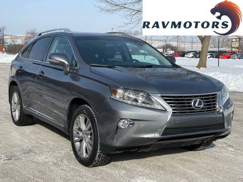 2013 Lexus RX 350 for sale at RAVMOTORS in Burnsville MN