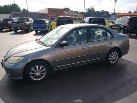 2004 Honda Civic for sale at Big Boys Auto Sales in Russellville KY