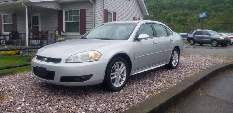 2012 Chevrolet Impala for sale at Steel River Auto in Bridgeport OH