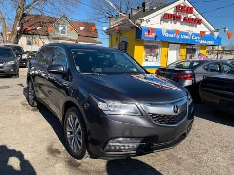 2014 Acura MDX for sale at C & M Auto Sales in Detroit MI