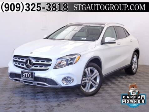 2018 Mercedes-Benz GLA for sale at STG Auto Group in Montclair CA