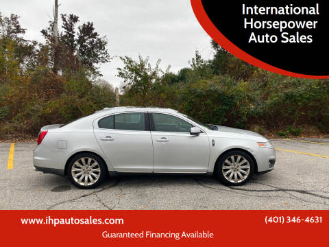 2011 Lincoln MKS for sale at International Horsepower Auto Sales in Warwick RI