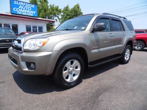 2007 Toyota 4Runner for sale at Surfside Auto Company in Norfolk VA