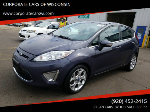 2012 Ford Fiesta for sale at CORPORATE CARS OF WISCONSIN - DAVES AUTO SALES OF SHEBOYGAN in Sheboygan WI