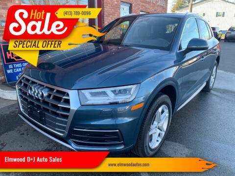 2018 Audi Q5 for sale at Elmwood D+J Auto Sales in Agawam MA