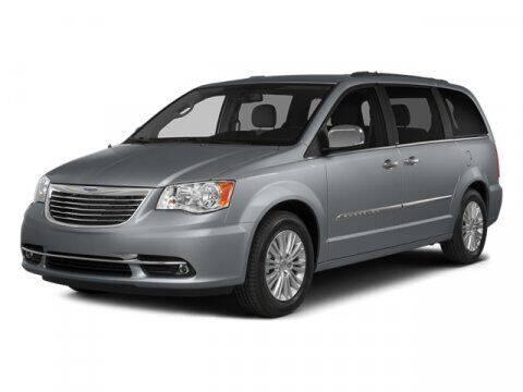 2014 Chrysler Town and Country for sale at SCOTT EVANS CHRYSLER DODGE in Carrollton GA
