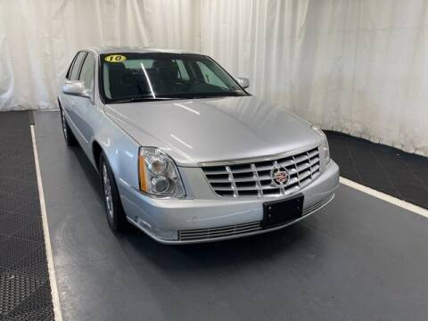 2010 Cadillac DTS for sale at Monster Motors in Michigan Center MI