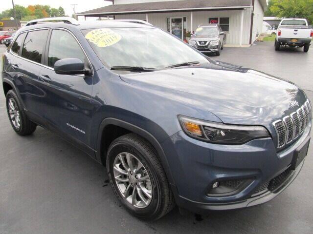 2019 Jeep Cherokee for sale at Thompson Motors LLC in Attica NY