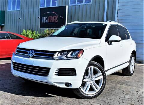 2014 Volkswagen Touareg for sale at Haus of Imports in Lemont IL