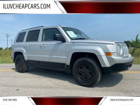 2011 Jeep Patriot for sale at ILUVCHEAPCARS.COM in Tulsa OK